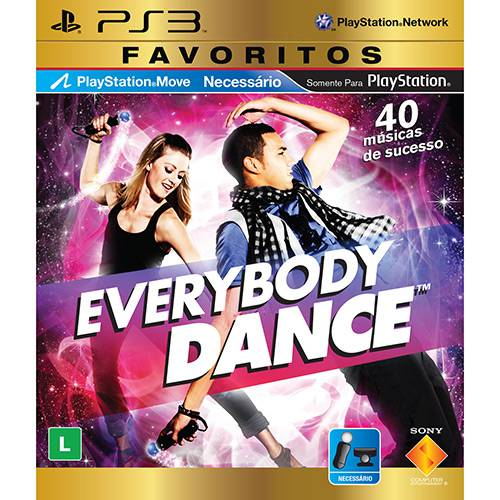 Game Everybody Dance - Favoritos - PS3