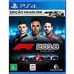 Game F1 2018 Headline Edition - PS4