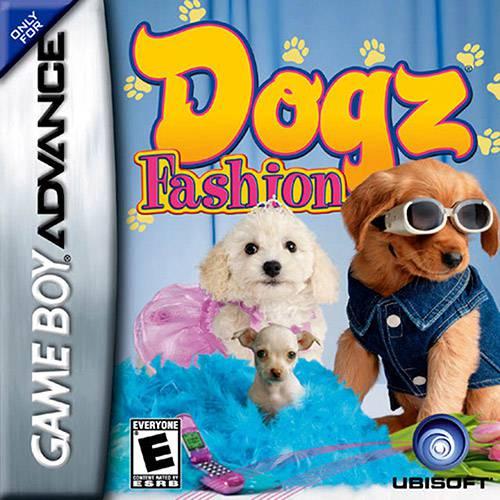 Game - Fashion Dogz GBA