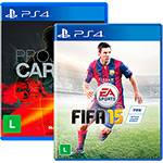 Game FIFA 15 + Project Cars - PS4