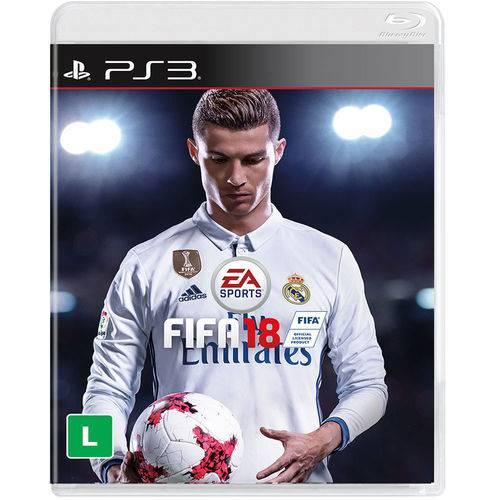 Game Fifa 18 para Playstation 3