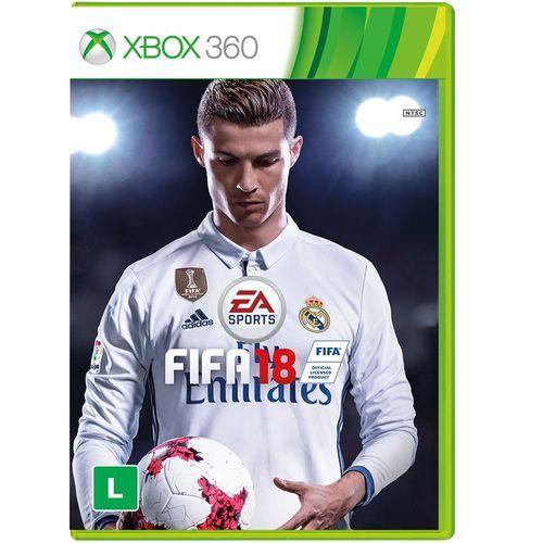 Game FIFA 18 para Xbox 360