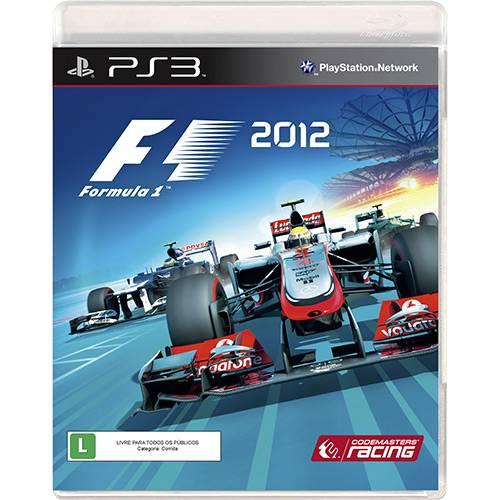 Game Formula 1 2012 - PS3