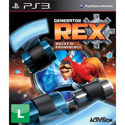 Game Generator Rex: Agent Of Providence - PS3