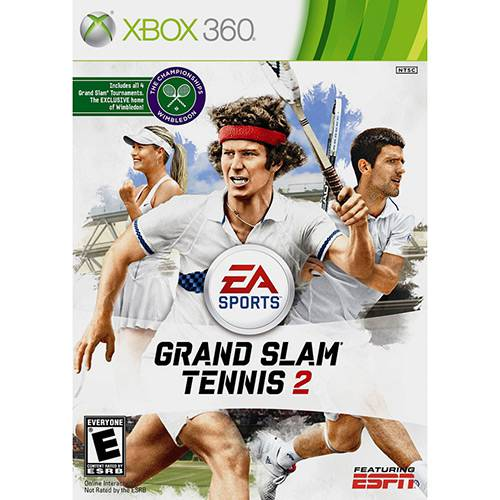Game Grand Slam Tennis II - Xbox 360