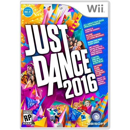 Game - Just Dance 2016 - Wii