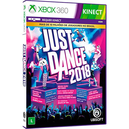 Game - Just Dance 2018 - Xbox 360