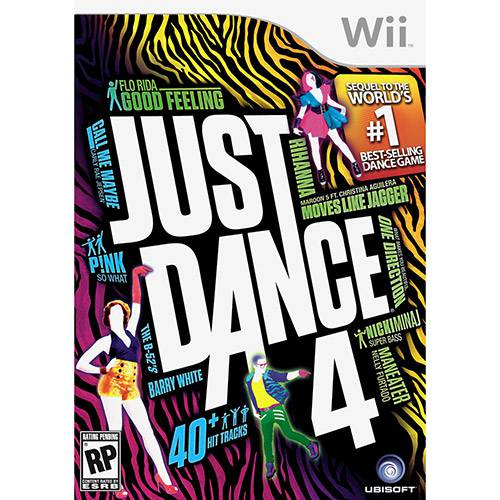 Game Just Dance 4 - Wii