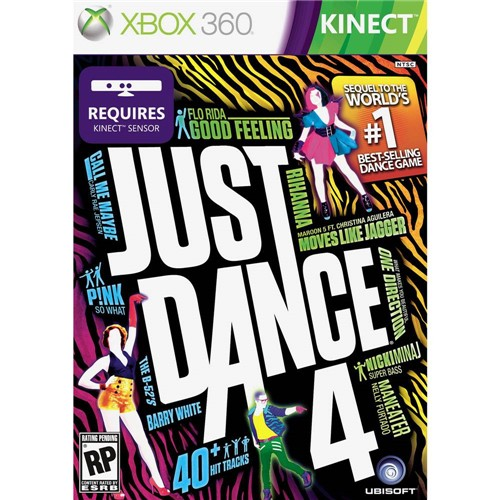 Game Just Dance 4 - Xbox 360