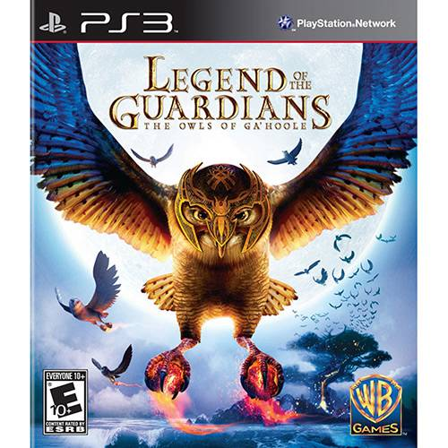 Game Legend Of The Guardians: The Owls Of Ga'Hoole - PS3