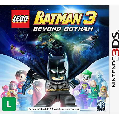 Game Lego Batman 3 (Versão em Português) - 3DS