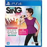 Game - Let's Sing 2016 - PS4