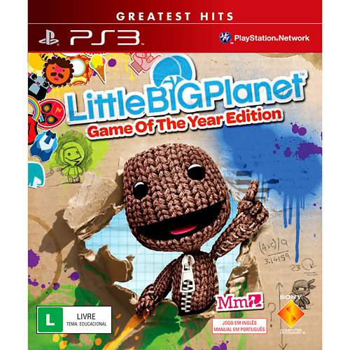 Game Little Big Planet - PS3
