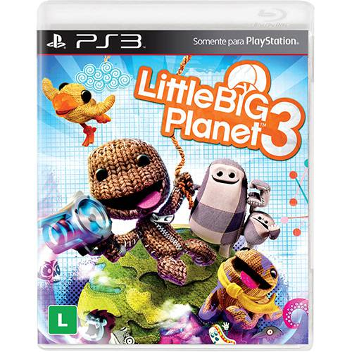 Game Little Big Planet 3 - PS3