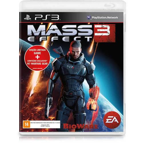 Game Mass Effect 3 - Edição Limitada - PS3