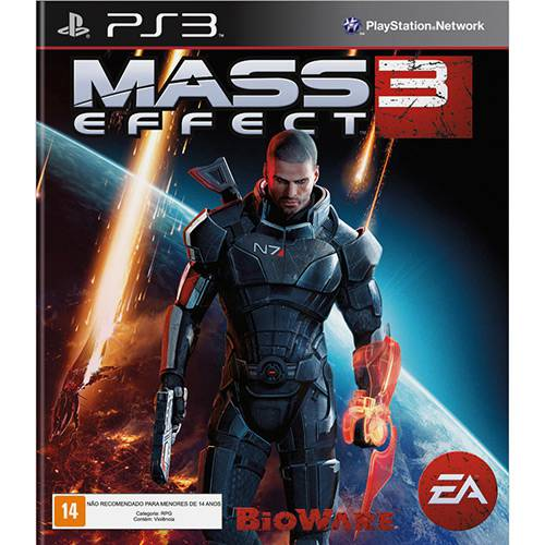 Game Mass Effect 3 - PS3