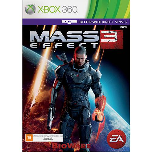Game Mass Effect 3 - XBOX 360
