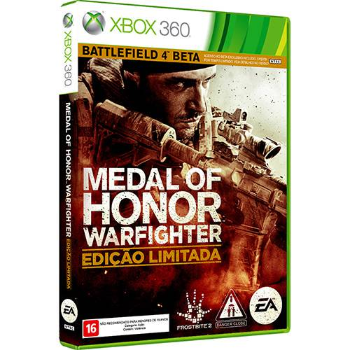 Game Medal Of Honor: Warfighter Ed. Limitada - Xbox 360