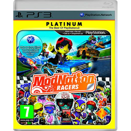 Game Modnation Racers Platinum - PS3