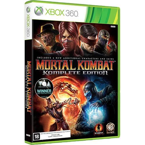 Game Mortal Kombat - Komplete Edition Br - Xbox360