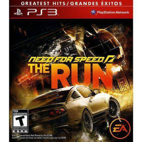 Game Need For Speed The Run - Ps3