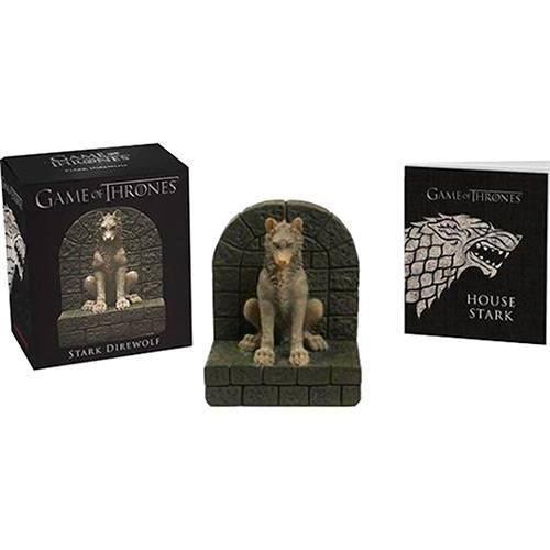 Game Of Thrones Stark Direwolf Mini Kit Miniatura Lobo