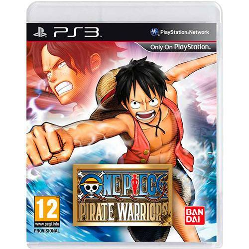 Game - One Piece Pirate Warriors - Ps3