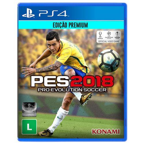 Game PES 18 para PS4