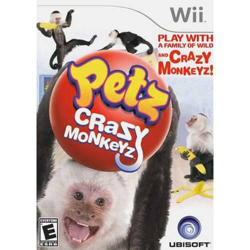Game Petz Crazy Monkeyz Wii