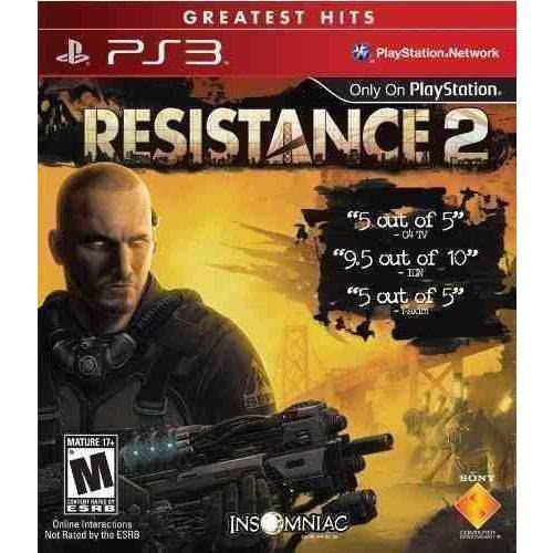 Game Ps3 Resistance 2