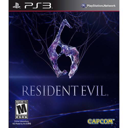 Game Resident Evil 6 - PS3