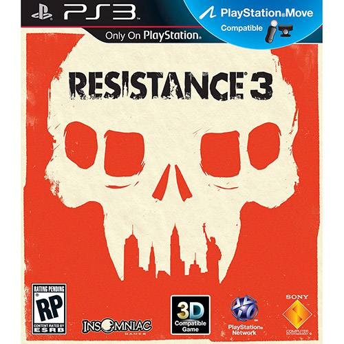 Game Resistance 3 - PS3