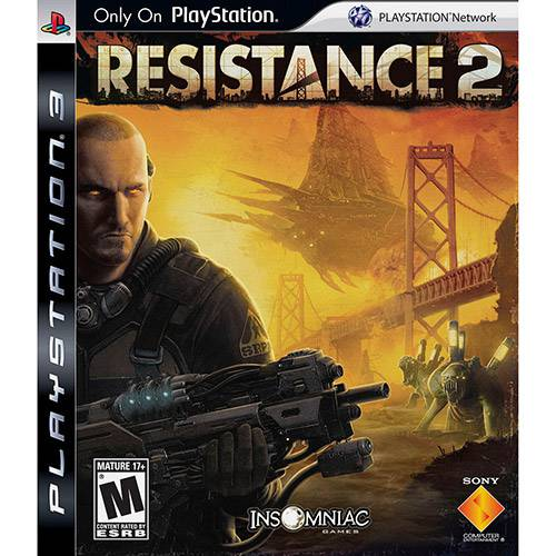 Game Resistance 2 - PS3