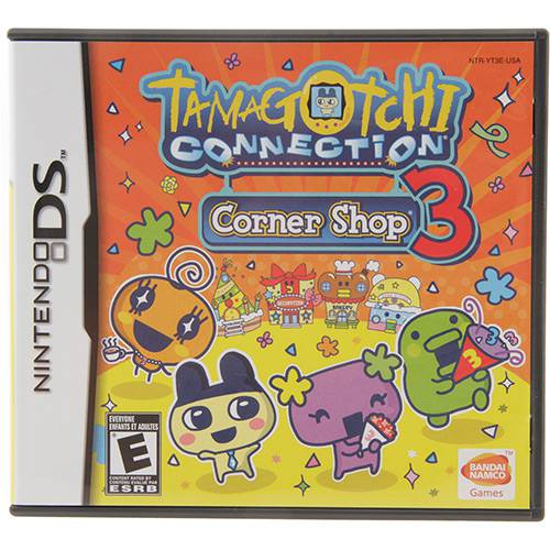 Game Tamagotchi Connection: Corner Shop 3 - Nitendo DS