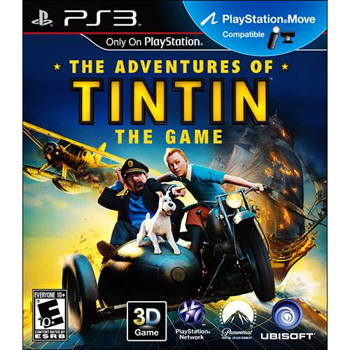 Game The Adventures Of Tintin: The Game - PS3