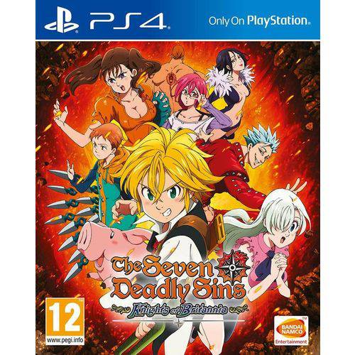 Game The Seven Deadly Sins: Knights Of Britannia - PS4