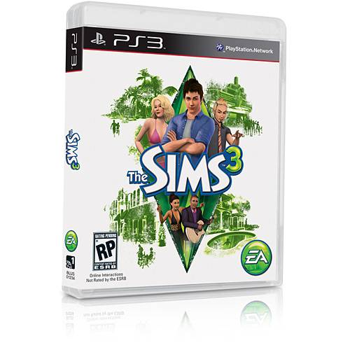 Game The Sims 3 - PS3