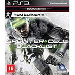 Game Tom Clancy's Splinter Cell: Blacklist Signature Edition - Versão em Português - PS3