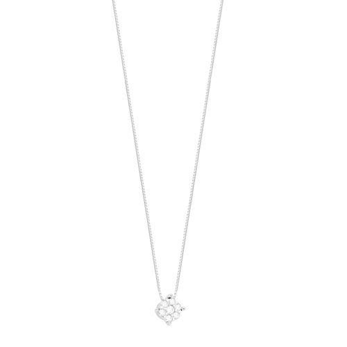 Gargantilha em Ouro 18K com Pérola e Diamante - AU4891 - 45CM