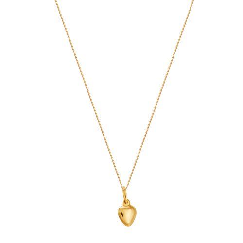 Gargantilha em Ouro 18K Coração - AU3058 - 45CM