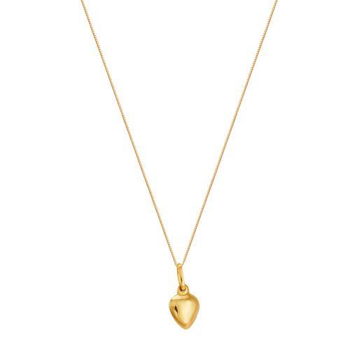 Gargantilha em Ouro 18K Coração - AU3059 - 45CM