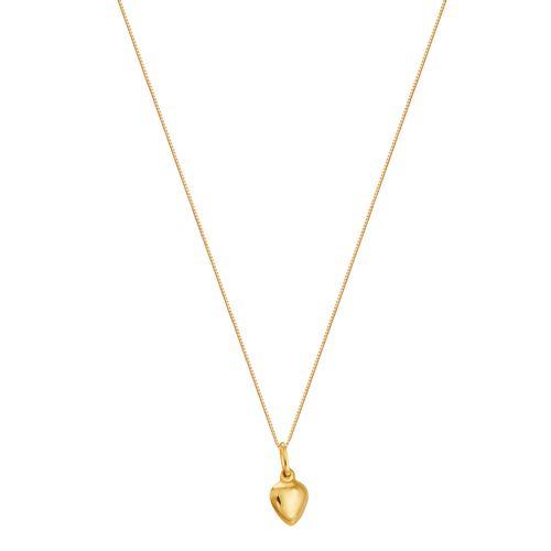 Gargantilha em Ouro 18K Coração - AU2198 - 40CM