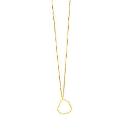 Gargantilha em Ouro 18K Coração - AU5214