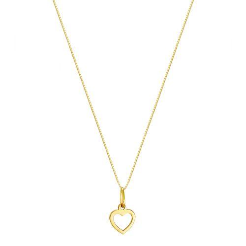 Gargantilha em Ouro 18K Coração - AU3266 - 45CM