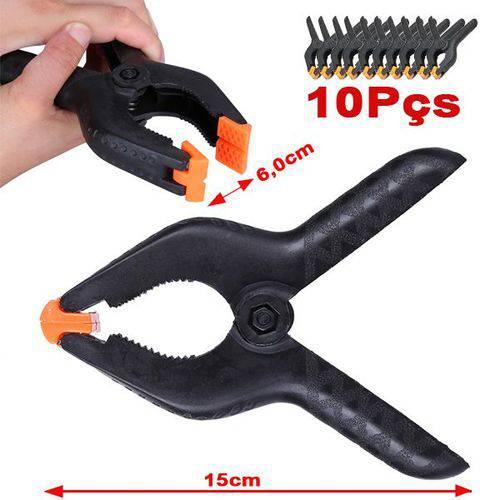 "Garra Pony Clamp 2"" Kit 10un - Fundo Infinito - Cl10m - 6,0cm"