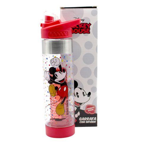 Garrafa C/infusor Mickey