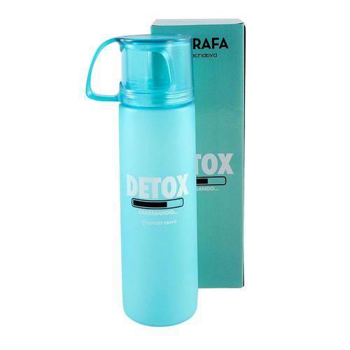Garrafa C/xícara 600ml Detox