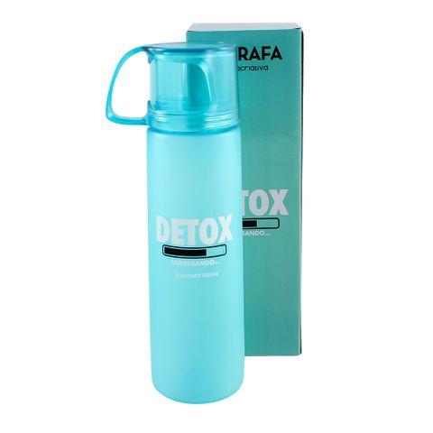 Garrafa com Xícara Detox