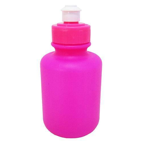 Garrafa Squeeze de Plastico Rosa 300ml