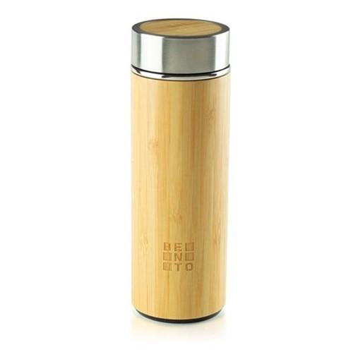 Garrafa Térmica Bento Go Chái Bambu Cerâmica 250ML - 32857